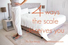 Four ways the scale deceives you | The Momiverse | Article by Tom Venuto | weight loss, weight gain, body composition, fat to muscle ratio, health goal, healthy eating, diet, nutrition