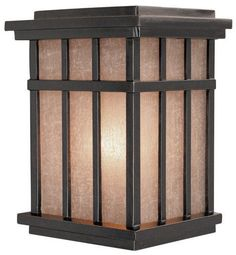 Dolan Designs 9142 Craftsman / Mission 1 Light Outdoor Wall Sconce from the