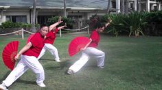 Tai Chi fan form: a deadly beautiful form. I'm inspired to learn it by my beloved neighbor who learned when she was in her Learn Tai Chi, Tai Chi Qigong, Eastern Medicine, Martial Arts Weapons, Fight Club, Yoga Meditation, Turtle Bay, Honolulu Hawaii, Exercise