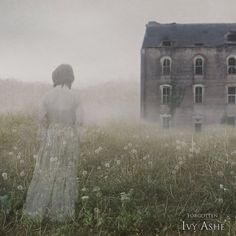 forgotten by =ivy-ashe on deviantART Creepy, Scary, Wuthering Heights, Story Inspiration, Macabre, Abandoned Places, Faeries, Dark Side, Ethereal