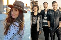 Sara Bareilles, OneRepublic Announce Co-Headlining Tour