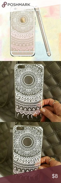 Iphone 6s plus new phone case I received this new and it will not fit my phone. Very cute for iphone 6s plus. Pretty design    * 100% brand new and high quality   * Light weight and form-fitting to the back of the phone, provides comfortable grip. Accessories Phone Cases