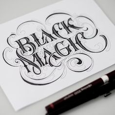 Lettering Projects by Andreas Ejerfors