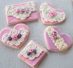 Lace Cookies by SweetCreationsNY