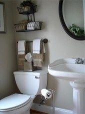 Incredible half bathroom decor ideas (21)