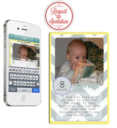 Instakeeper - the instant photo journaling app.    1. Capture the moment:  Snap, a picture and instantly add captions.   2. Design and print:  Add buttons and designs to your photos and create printable cards that work with most other scrapbook systems.