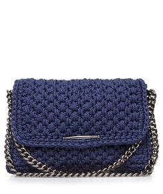 Navy Obsession Dash Crochet Bag section of information related to. Crochet Clutch, Crochet Handbags, Crochet Purses, Cute Purses, Purses And Bags, Diy Tote Bag, Knitting Accessories, Knitted Bags, Handmade Bags