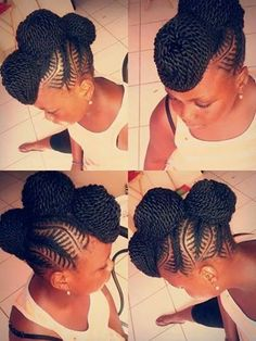 Twist Updo - http://www.blackhairinformation.com/community/hairstyle-gallery/braids-twists/twist-updo-2/ #braidsandtwists