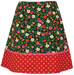 Strawberry Field Skirt $58