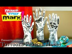 plaster hands--maybe surrealism?