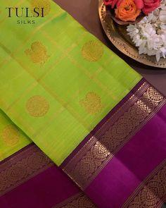 Kanjivaram Sarees Silk, Blue Silk Saree, Bridal Silk Saree, Kanchipuram Saree, Saree Wedding, Cotton Saree, Fancy Blouse Designs, Blouse Neck Designs, Pattu Saree Blouse Designs