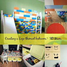 Creating a Lego themed bedroom