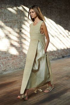A look from the The Row Spring 2015 RTW collection.