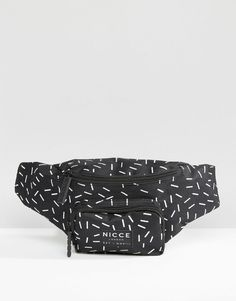 Image 1 of Nicce Bum Bag With All Over Print