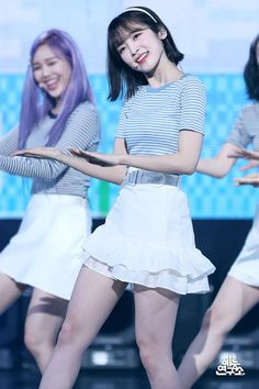 Kpop Fashion Outfits, Stage Outfits, Girl Outfits, Fashion Dresses, Arin Oh My Girl, Korean Birthday, Rubber Soul, Pin Pics, Korean Girl