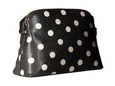 kate spade new york Cedar Street Dot Mandy Faux Leather Small Crossbody Black Decob
