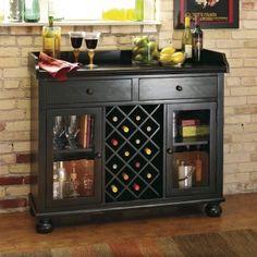 Cabernet Hills 14-Bottle Wine Bar.