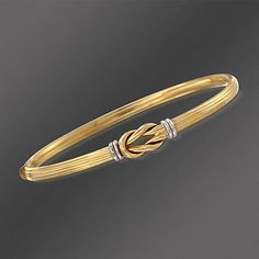 Shop Ross-Simons for the finest collection of bracelets by designer Roberto Coin. Gold Ring Designs, Gold Bangles Design, Gold Earrings Designs, Gold Jewellery Design, Gold Jewelry, Plain Gold Bangles, Gold Bangles For Women, Gold Bracelet For Women, Gold Bracelet Indian