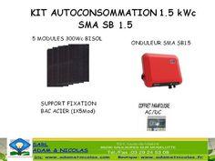 - Kit Photovoltaique Auto consommation 900Wc Vente en ligne panneaux solaires Vosges - kits photovoltaïques - Installer Panneau Materiel Solaire