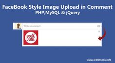 My readers continuously asked me to work on Facebook Style uploading pictures in comment box. So thought to share this wonderful tutorial here using PHP, MYSQL & jQuery. I felt that I haven't included this feature in my wallscript & I thought this is the right time to share this cool feature…