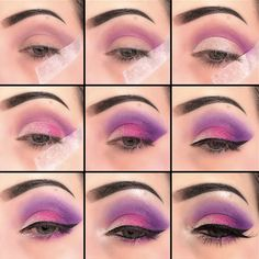 21 Purple Eyeshadow Looks for Brown Eyes > CherryCherryBeauty.com • Source: serenity_vanity / Instagram