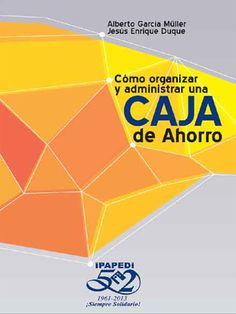 Este libro es una herramienta gerencial para la buena administarción de las Cajas de Ahorro e Institutos de Prevención Social