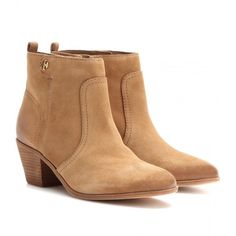 Tory Burch Leena Suede Ankle Boots and other apparel, accessories and trends. Browse and shop 21 related looks.