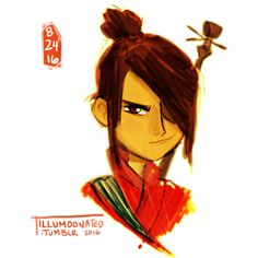 Kubo and the Two Strings by LittleMsArtsy on DeviantArt