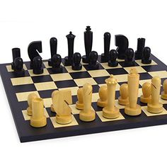 Black Berliner TripleWeighted Chess Set on Birdseye Maple Board *** Click on the image for additional details.