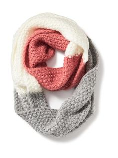 Color-Block Inifinity Scarf