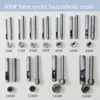 300 # 5 мм DIY ручной работы из углеродистой стали металл петли инструменты для марка ушко отверстие комплект инструментов