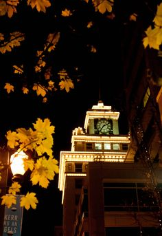 Clock Tower, seen from Pioneer Courthouse Square, Portland