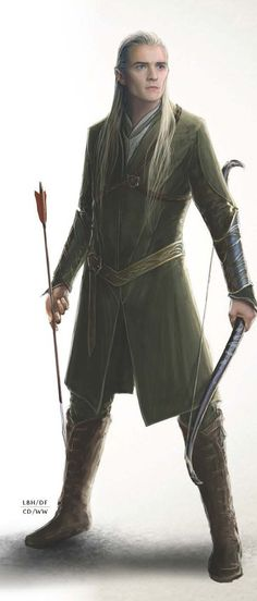 Legolas concept art. IM CRYING ITS TOO BEAUTIFUL<-- go ahead I won't judge because I will be doing the same thing!