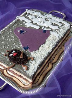 Moomin Mugs, Friend Recipe, Birthday Parties, Birthday Cake, Novelty Cakes, Party Cakes, Baked Goods, Buffet, Cake Decorating
