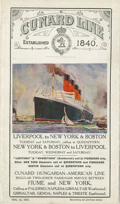 Historic Cunard Line transatlantic Poster  http://usm.maine.edu/maps/sites/default/files/MatthewEdney/exhibition/exhibition-image/55-Cunard-81-0001.jpg