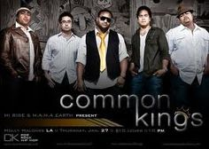 Forever my favorite band! Common Kings!! #POLYNESiAN