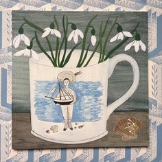 622 vind-ik-leuks, 46 reacties - Debbie George (@debbiegeorgepainter) op Instagram: ''Mary's cup' a new painting that I am working on inspired by an oil painting by Mary Fedden. I once…'