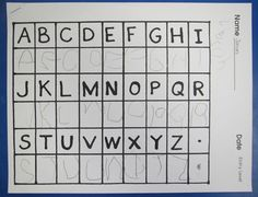 kdg beg mid end of year assessments on letters, numbers, shapes etc