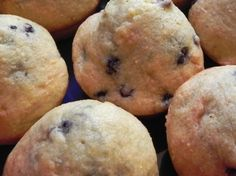 Lemon Cornmeal Blueberry Muffins