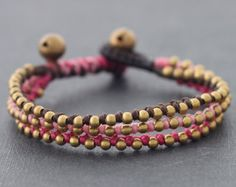Femme Pink Knot Bracelet