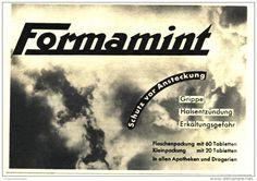 Original-Werbung/ Anzeige 1936 - FORMAMINT - ca. 115 x 75 mm