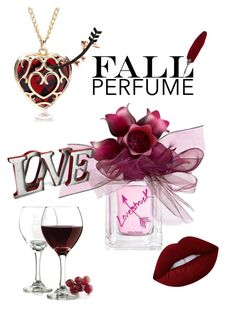 """""""Fall Perfume"""" by lotus-lotusflower on Polyvore featuring beauty, Vera Wang, Wild Hearts, Libbey and Lime Crime"""