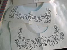 Folk Embroidery Ideas Designing Embroidery For Mexican Peasant Blouse Hungarian Embroidery, Hand Embroidery Designs, Vintage Embroidery, Embroidery Applique, Beaded Embroidery, Cross Stitch Embroidery, Embroidery Patterns, Diy Mexican Embroidery, Embroidery Monogram