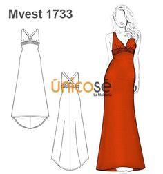 85f467ab2d Ùnicosé La Moldería. Moldes Vestidos De FiestaMoldes De VestidosVestidos De  MujerPatrones ...