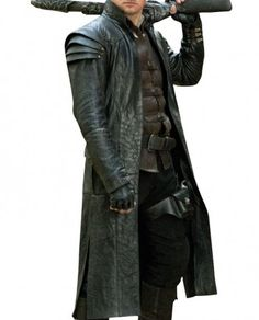 Hansel and Gretel Jeremy Renner Coat Famous Hollywood Movies, Jeremy Renner, Costume Design, Winter Coat, Diy Butterfly, Leather Jacket, Costumes, Avengers, Steampunk