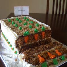 Fun Birthday Carrot Cake