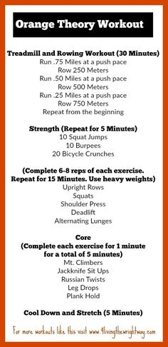 orange theory home workout * orange theory workout at home Rowing Workout, Treadmill Workouts, At Home Workouts, Body Workouts, Running Workouts, Circuit Workouts, Tabata, Circuit Training, Treadmill Running