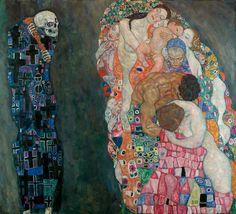 Death and Life, 1910. By Gustav Klimt