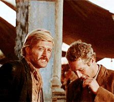 """""""Butch Cassidy et le Kid"""" (""""Butch Cassidy and the Sundance Kid""""), George Roy Hill, Sundance Kid, Paul Newman Robert Redford, George Roy Hill, Barefoot In The Park, Two Men, Western Movies, Butches, Santa Monica, Jennifer Lopez"""