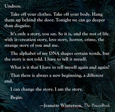 Jeanette Winterson,The PowerBook